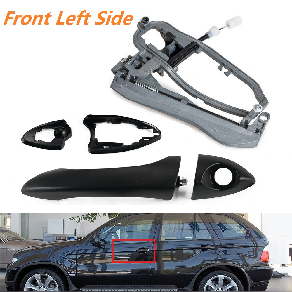 Door Handle Carrier Front Driver Left Side Lh For Bmw X5 E53 2000 2006 New Ushirika Coop