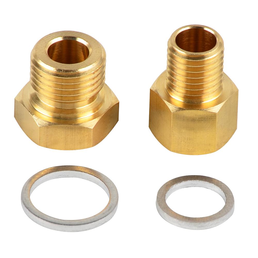 LS1 4.8L 5.3L 5.7L 6.0L Oil Pressure /& Coolant Temp Gauge Fitting Adapters Swap